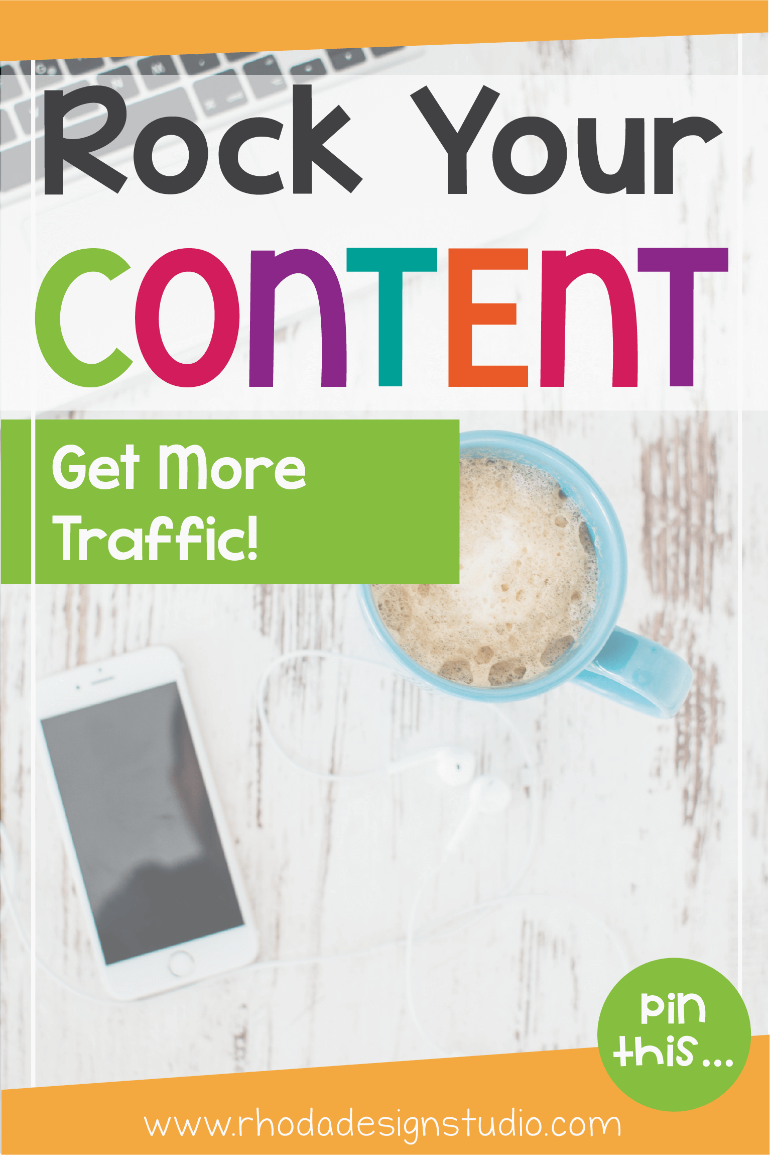 How to rock your content marketing. What do you need to help drive traffic to your website or online business? Visit the blog for the fun infographic.