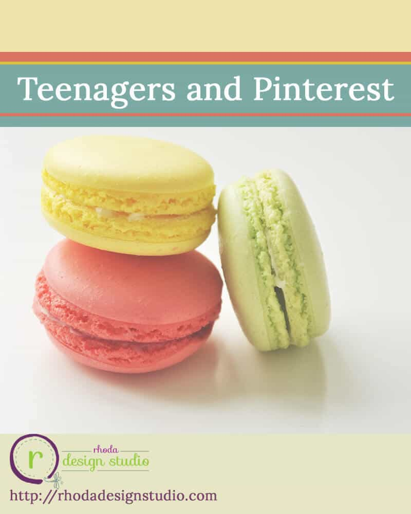 teenagers and pinterest
