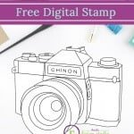 Capture the Memories Free Digi Stamp