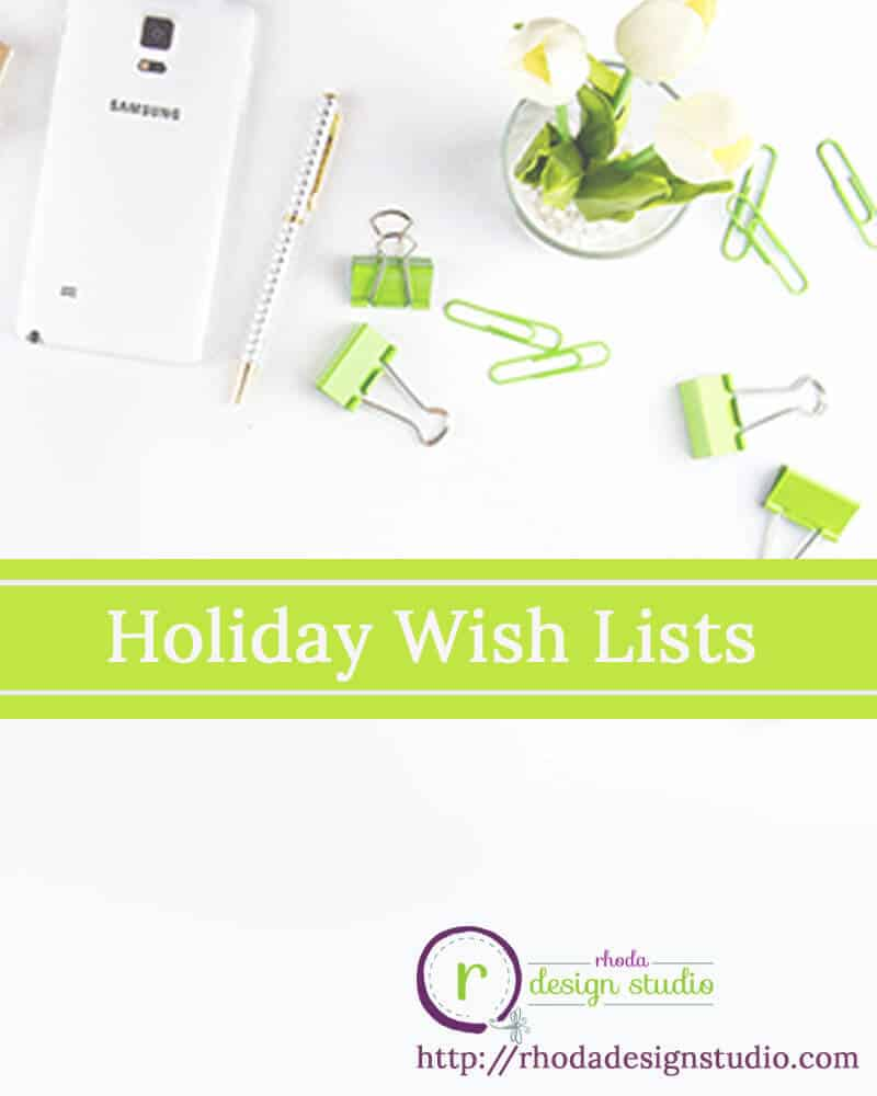 Wish List for the Holidays