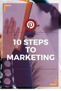 There are 10 easy steps to marketing your business with Pinterest. Read the blog to learn all ten!