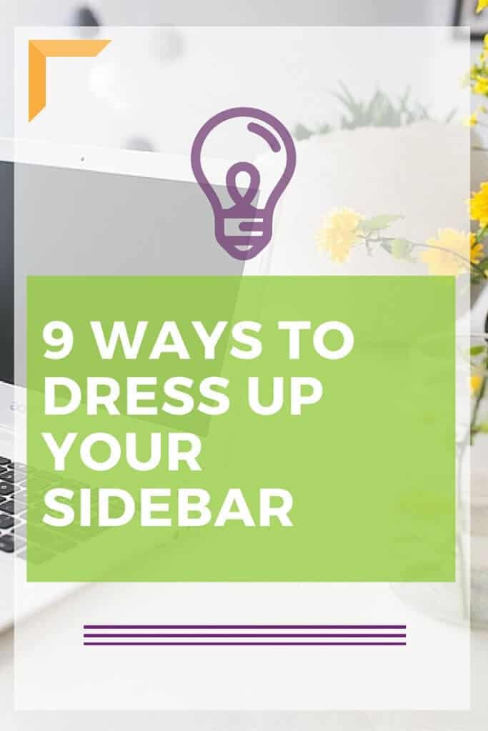 9 Ways to Dress Up Your Blogs Side Bar. These widgets and plugins will make your site look great! Click now.
