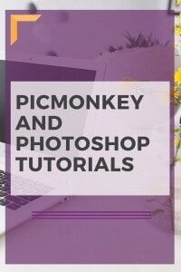 Photoshop and PicMonkey Tutorials for Pinterest Images
