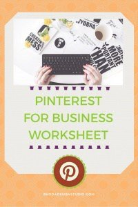 A worksheet for business owners, blog owners, or infopreneurs. If you are on Pinterest this worksheet will help you get started with your profile. Check it out!