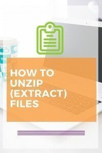 How to Unzip or Extract files using a MAC or PC. Step by step tutorial. Click to read how you can extract compressed files.