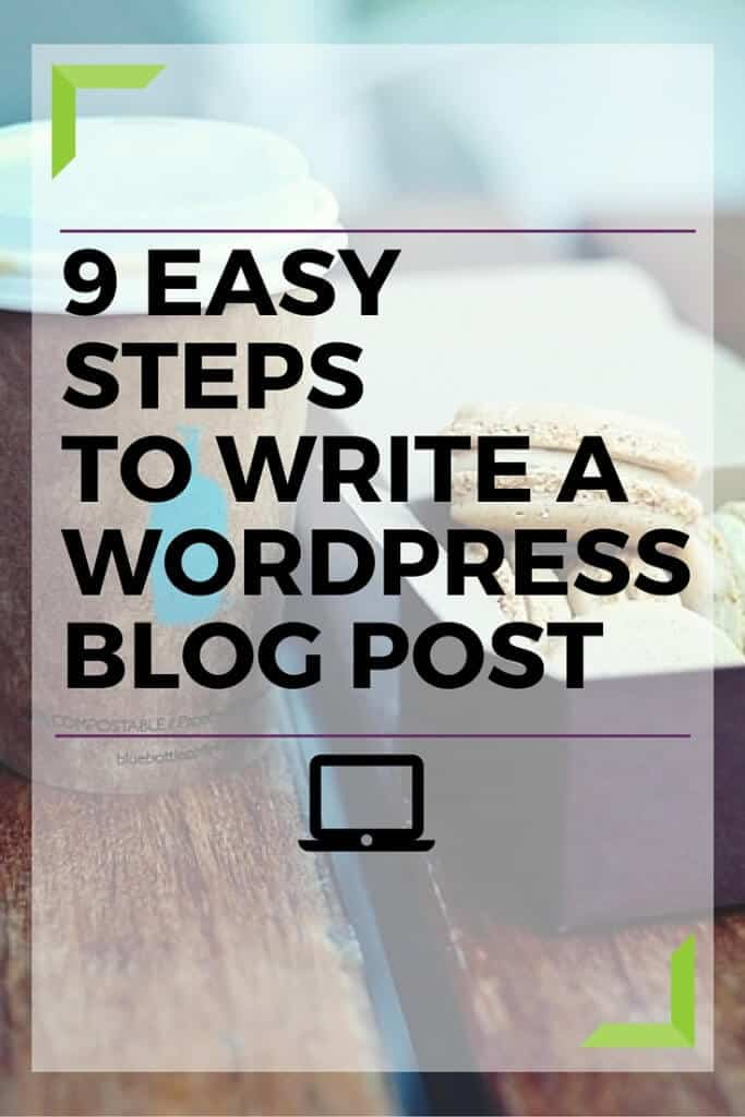 9 Easy steps is all it takes to write a blog post using WordPress. Learn how with this step by step tutorial. Click to read.