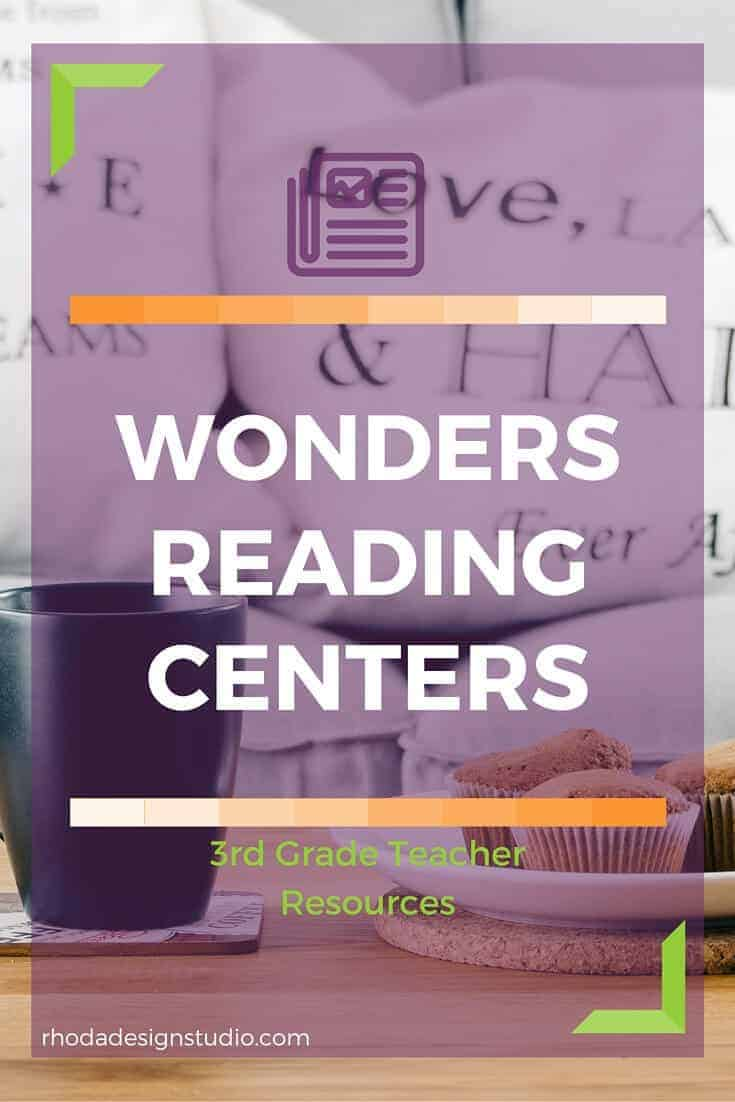 Third grade spelling and grammar centers. Based on the Wonders Reading Program. Created by Rhoda Design Studio. Sold on TpT