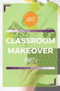 Classroom makeover part two. Bulletin boards. Rhoda Studio