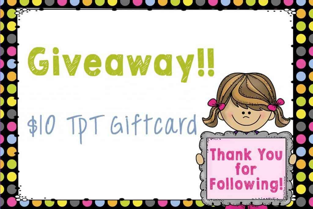 Teachers Pay Teachers Gift Card Giveaway Thank you for following my store! Rhoda Design Studio