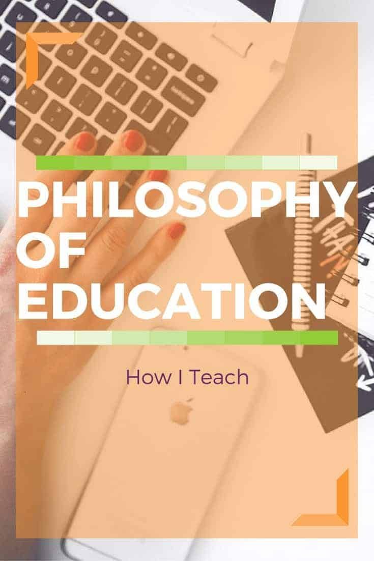 My Philosophy of Education has always been to do what is best for children and to teach the way they learn best!