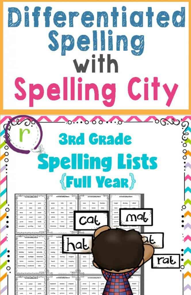 How Spelling City can help you streamline your differentiated spelling lists. Rhoda Design Studio