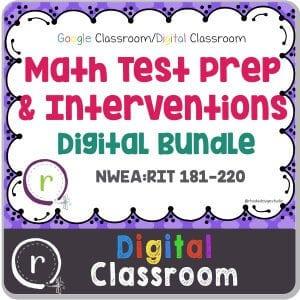 Classroom Math Intervention Strategies for Elementary Teachers. Task card bundles. Rhoda Design Studio