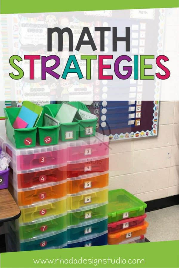 Math strategies and interventions can be hard to organize in your classroom. Using these math worksheets and task cards can help you with small group instruction, centers, and interventions.
