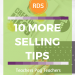 The Basics of Selling on TPT-10 More Tips