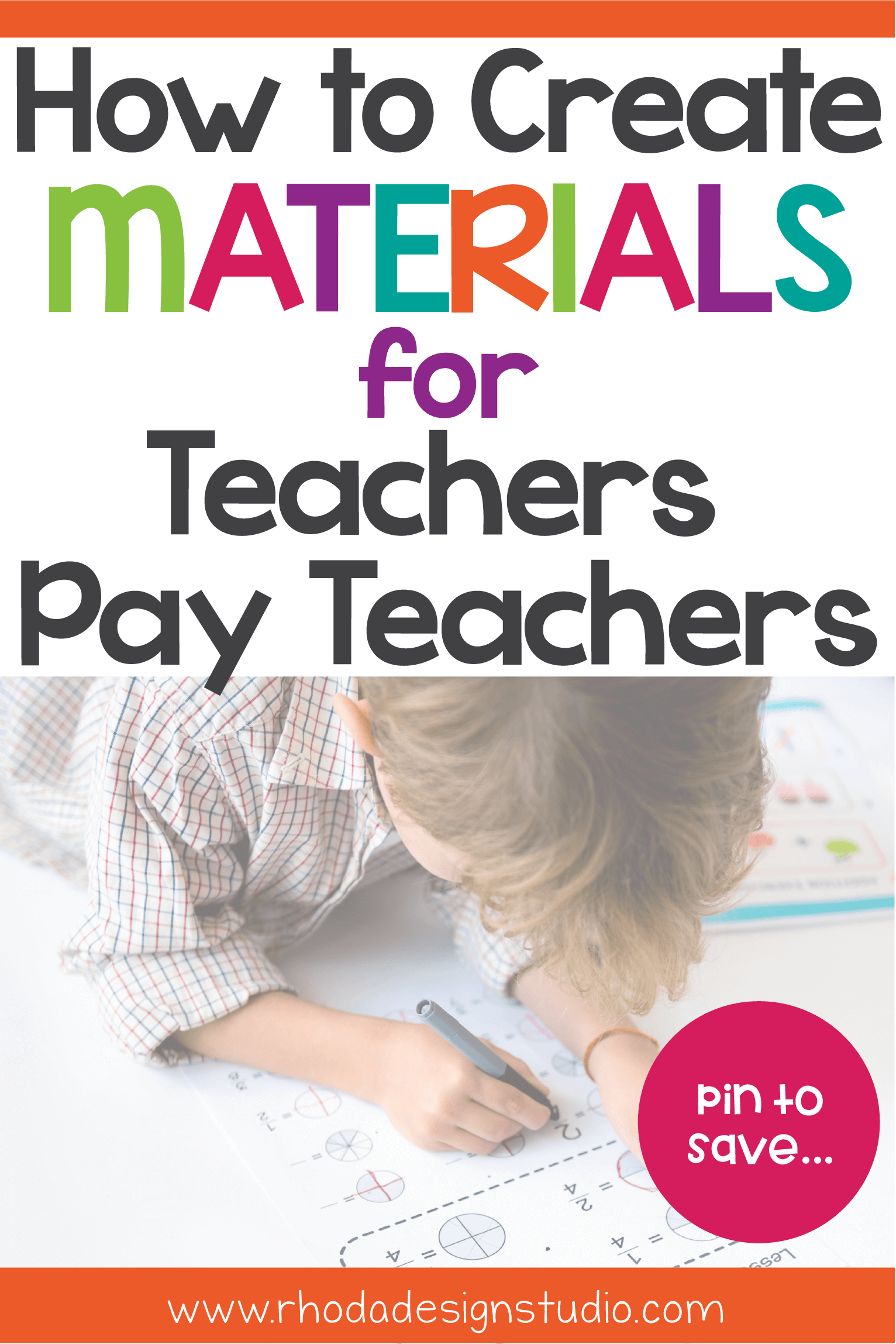 How to create materials for Teachers Pay Teachers. 10 tips to learn the first steps that will teach you how to make products for Teachers Pay Teachers and how to create worksheets. Learn the things you will need to make Teachers Pay Teachers products. All the things you need to start selling on Teachers Pay Teachers. #rhodadesignstudio