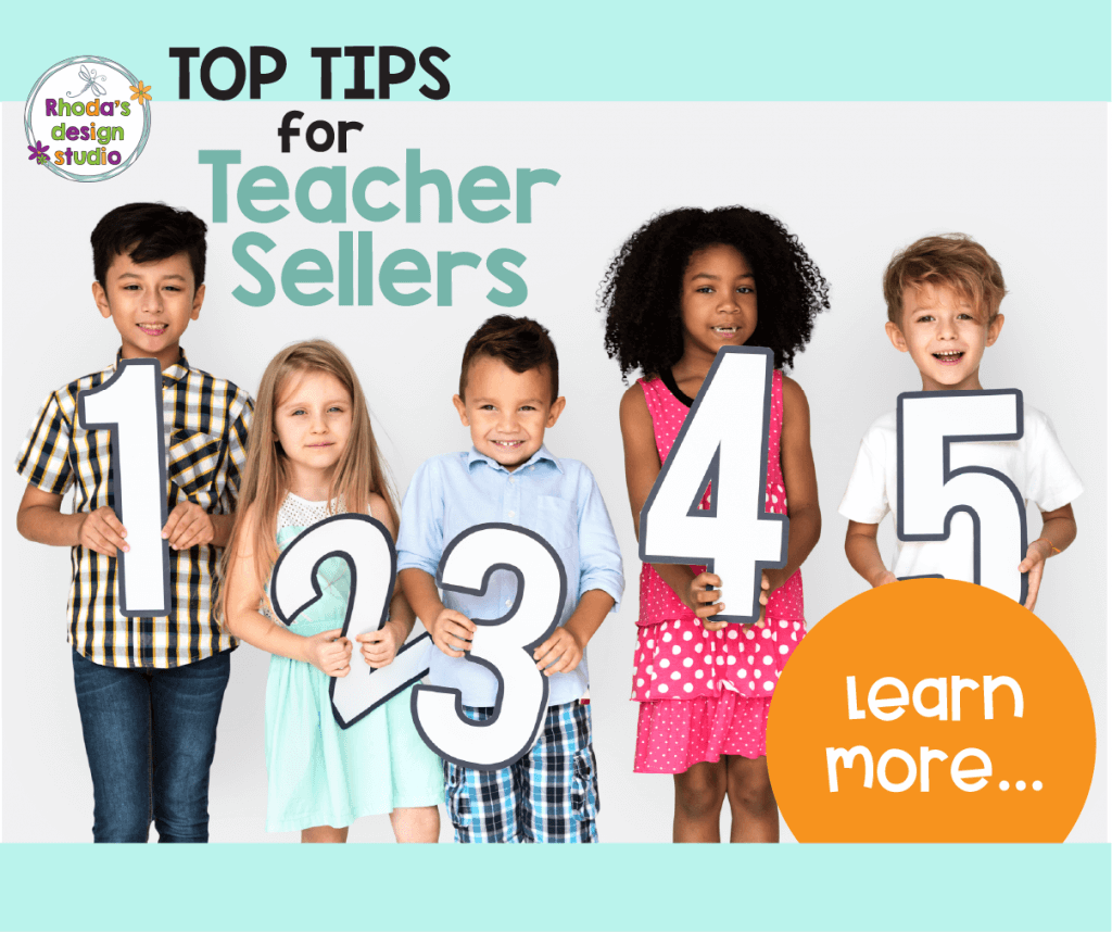 Learn to sell on Teachers Pay Teachers. Top Tips for New TpT Sellers. Make money online as a teacher by creating a side-hustle selling lesson plans. Rhoda Design Studio