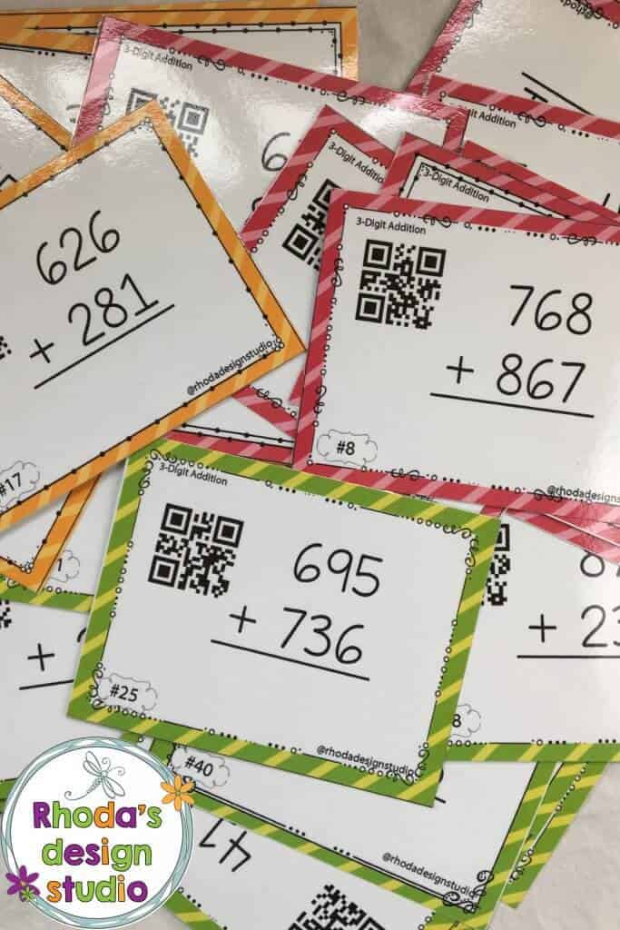 organize task cards in your classroom