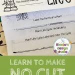 No Cutting Flip Book: Learn to make your own with a template and my free course.