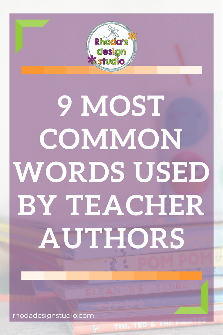 9 most common words used by teachers who create resources for Teachers Pay Teachers. Click to read more.