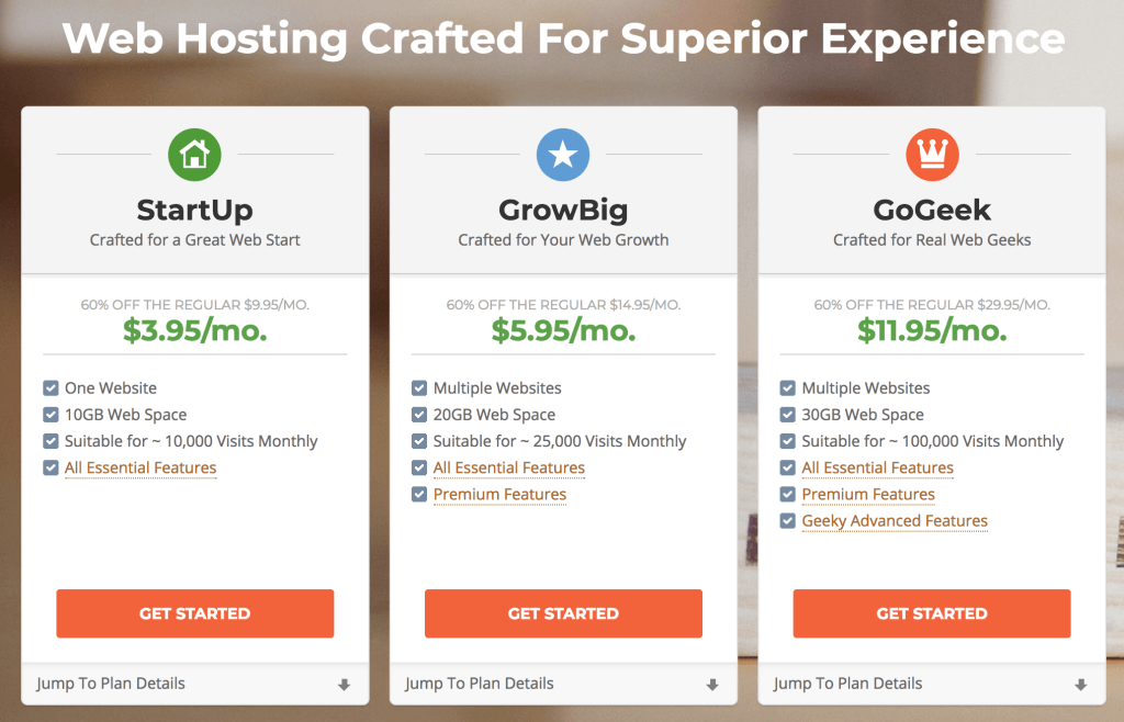 Start a WordPress Blog on SiteGround. Pricing options for WordPress hosting.