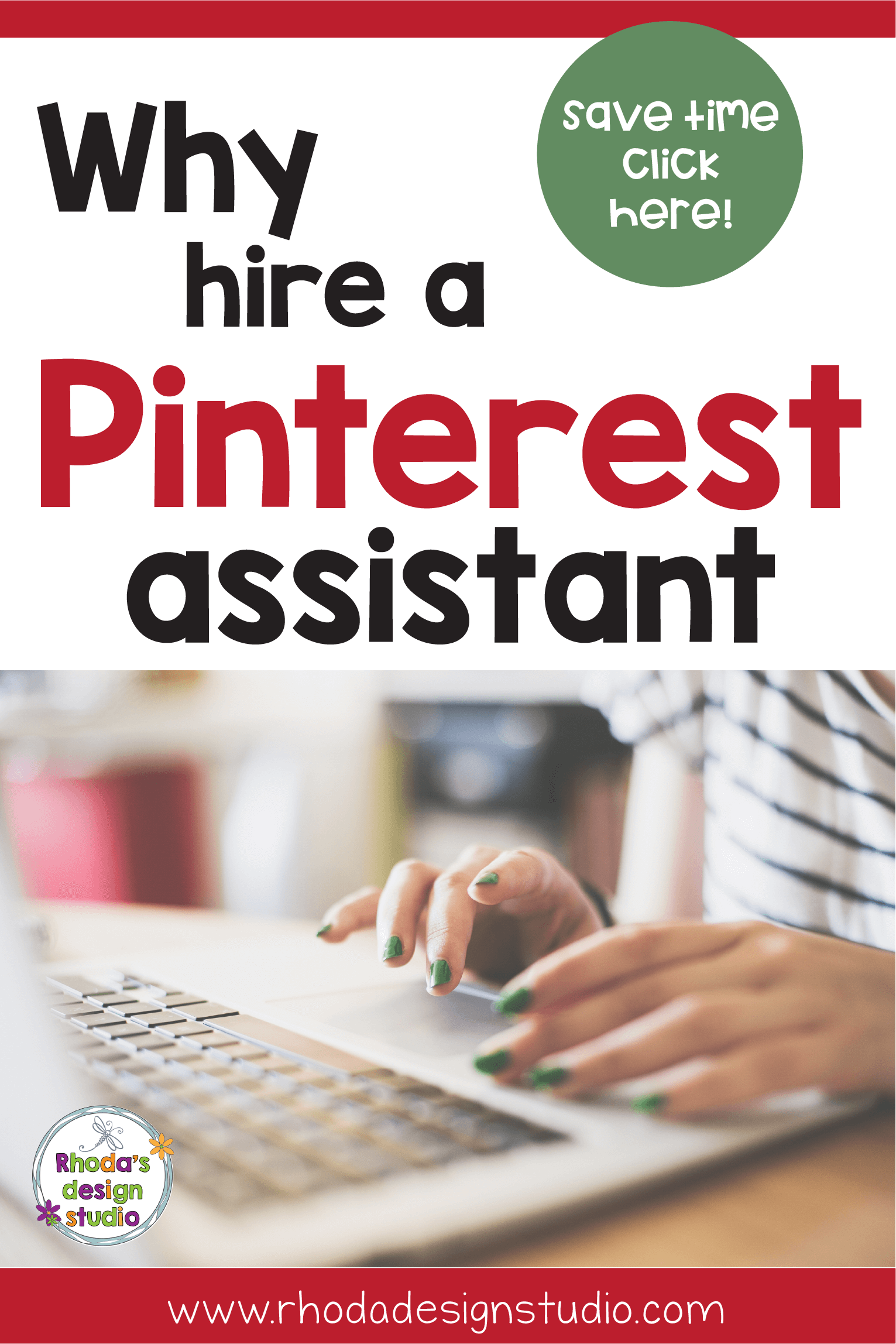 Pinterest Marketing is a great way to boost your sites traffic. Hiring a Pinterest Virtual Assistant who can implement strategies that increase your business by setting up scheduling on Tailwind or BoardBooster and helping you customize pins will save you time and help you make money.
