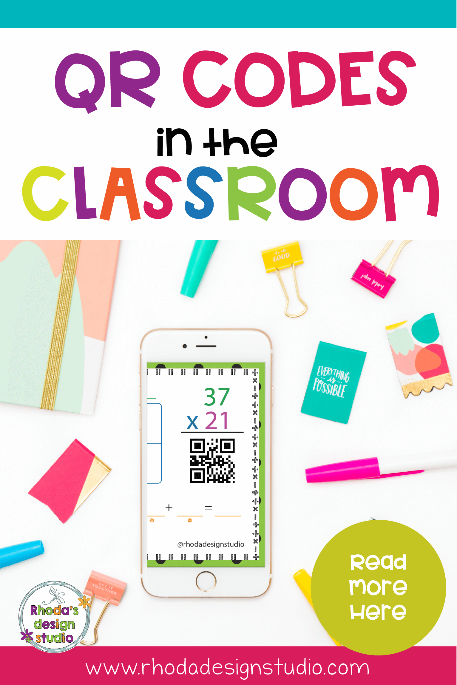 QR Codes in the classroom are great for math, reading, science, and other activities. These 5 ways to use QR Codes in the classroom help teachers save time and help with classroom management.