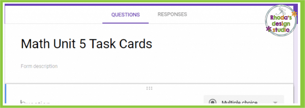 Google Forms in the classroom is a great way for teachers to save time in an elementary classroom. View questions and responses.