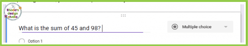 Google Forms in the classroom is a great way for teachers to save time in an elementary classroom. Use them for math exit tickets.