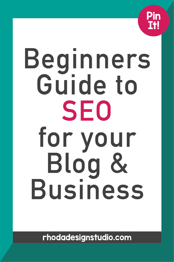 Beginners Guide to SEO for your Blog or Business. Use keywords and content to help drive traffic and sales to your website, blog, or Teachers Pay Teachers shop.
