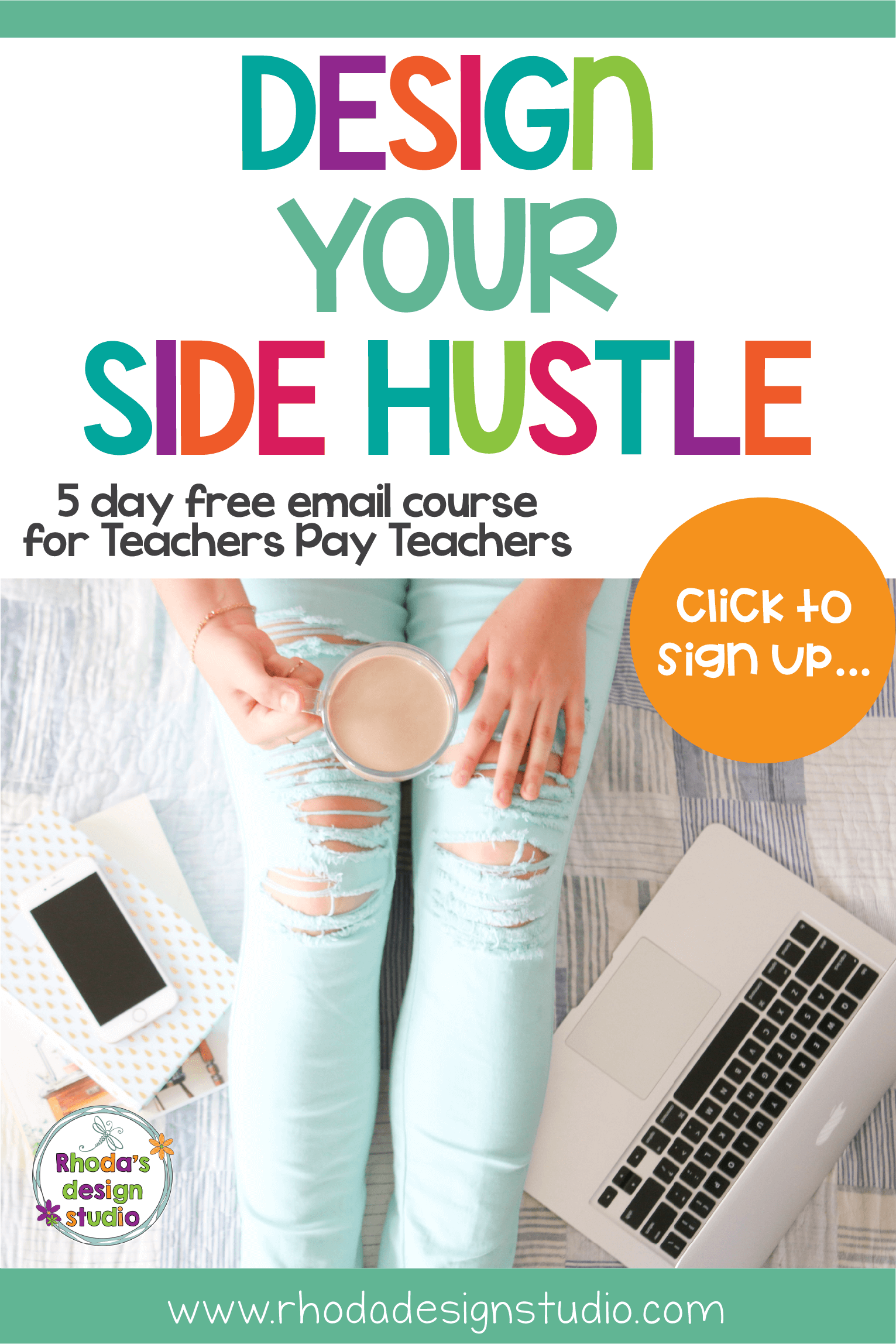 Sign up for a free 5 day course that will teach you all about selling on Teachers Pay Teachers. Learn to sell on Teachers Pay Teachers. Top Tips for New TpT Sellers. Make money online as a teacher by creating a side-hustle selling lesson plans. Rhoda Design Studio
