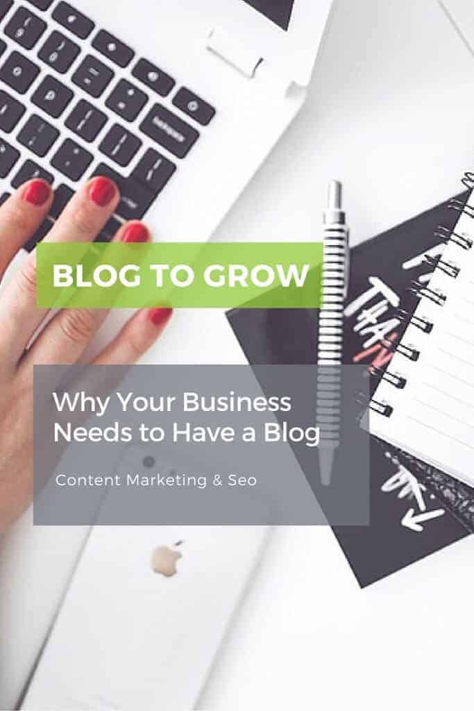 Why your business needs a blog. Read more to see how to use a blog to grow your traffic.