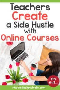 Learn to make money with online courses. Create a teacher side hustle by teaching others online.
