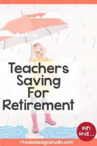 Saving money for retirement can be a little tricky. Read more about teachers saving for retirement.