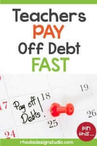 Pay off debt fast by paying more on your credit cards, saving money each month, and more. Read the post to learn more.
