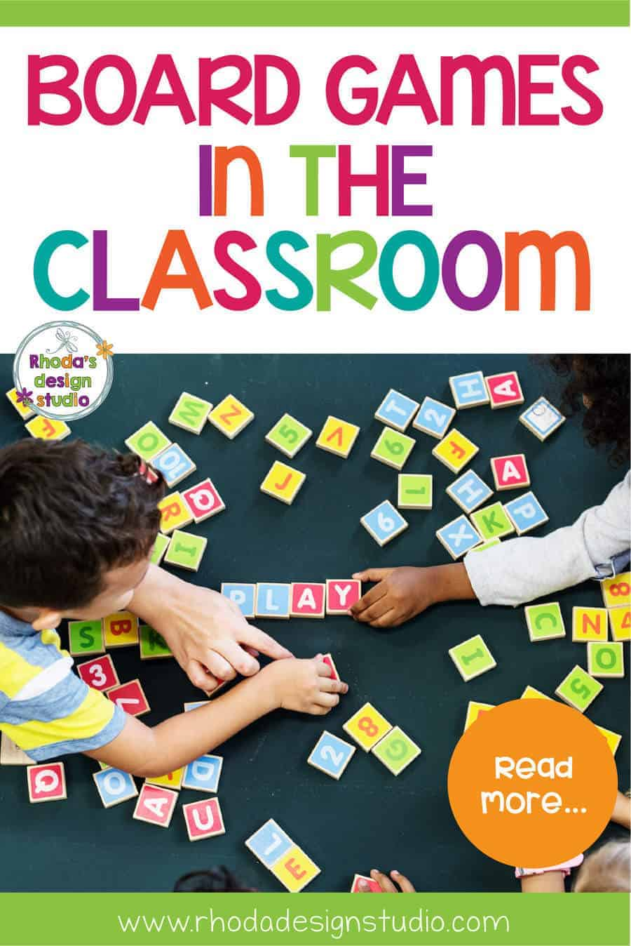 Teaching with board games is a fun way to have students enjoy their learning. Great for math and literacy centers. Kids will have fun playing and teachers will enjoy that they are practicing math and reading skills at the same time.