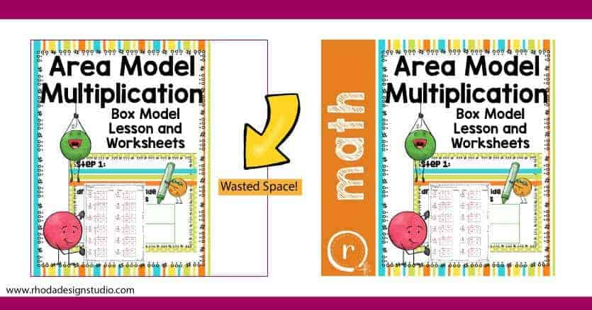 Create a cover image for your Teachers Pay Teachers product that uses all of the space provided. Create a cover for TPT products that catches a buyers eye.