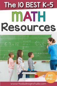The 10 best K-5 math teaching resources on Teachers Pay Teachers to use with your classroom this school year.