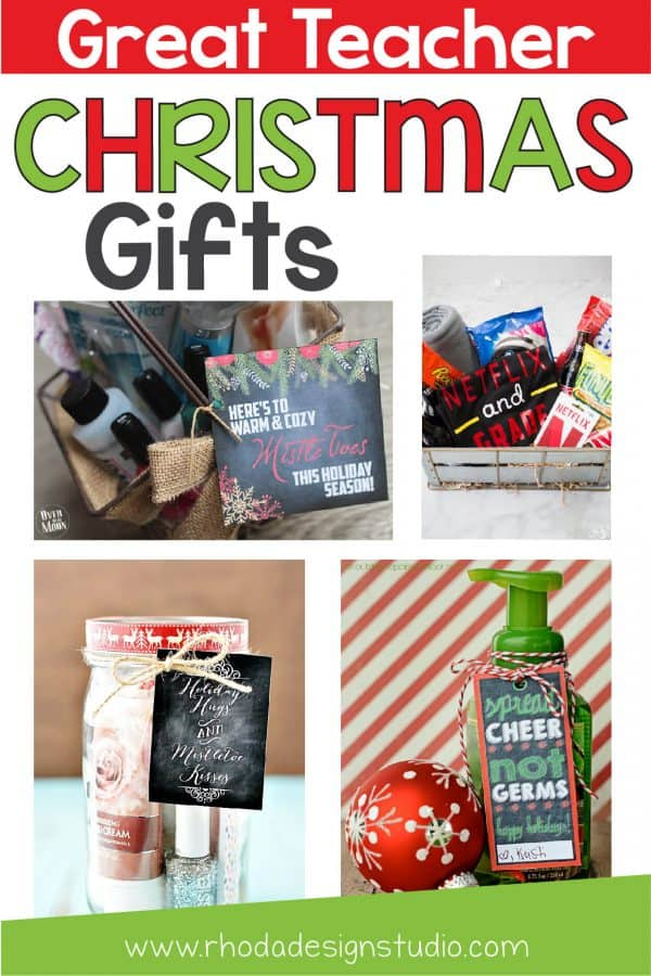 Great teacher Christmas gifts to give to your child's teacher this year. A great list to get some ideas for educational gifts.