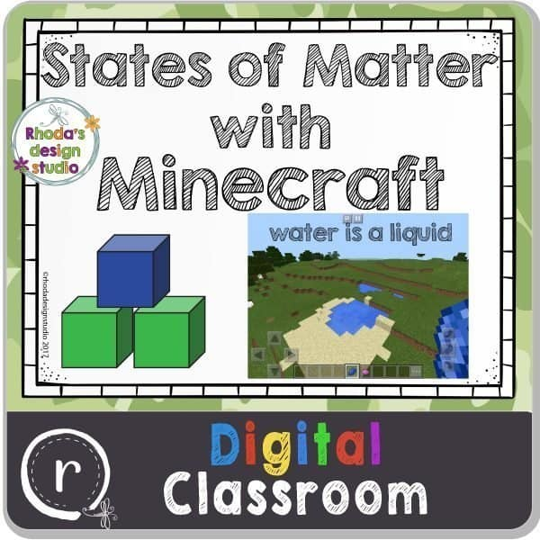 States of matter with Minecraft. What is STEM and how can you use it in the classroom?