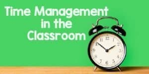 time management in the classroom