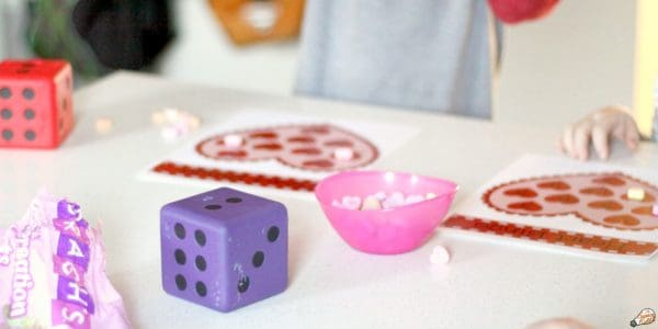 math bingo for valentines day crafts and STEM activities.