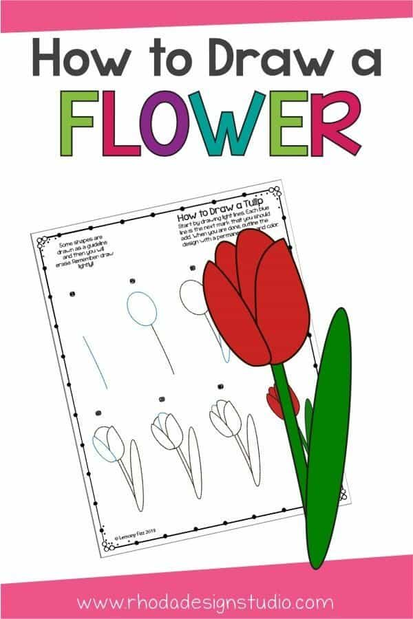 Learn how to draw a flower with this easy tutorial. Step by step instructions will teach you how to draw a flower with easy techniques. Learn to make lots of fun flower doodles.