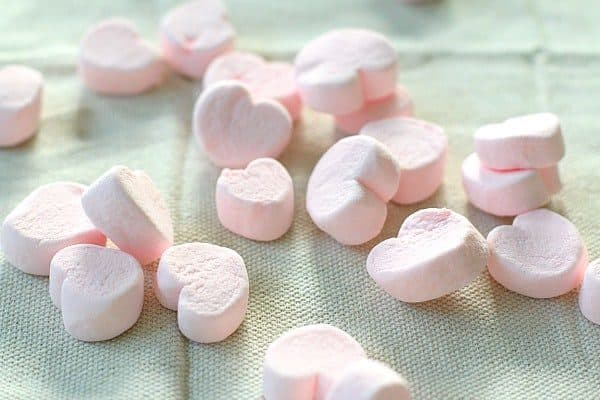 marshmallow and toothpick structure for valentines day crafts