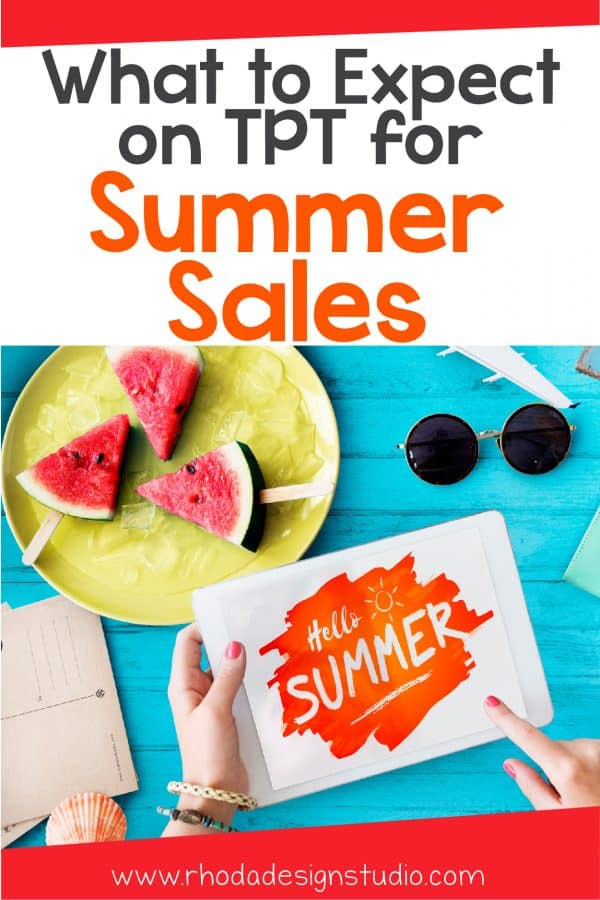 As a new seller, what can you expect for summer sales on Teachers Pay Teachers. Learn about buyer and seller habits and how to overcome the summer slump.