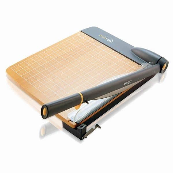 Paper cutter for teacher supplies lists and back to school.