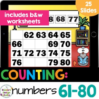 number chart 61-80